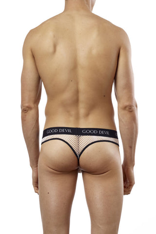 Good Devil GD7042  Big Mesh Thong