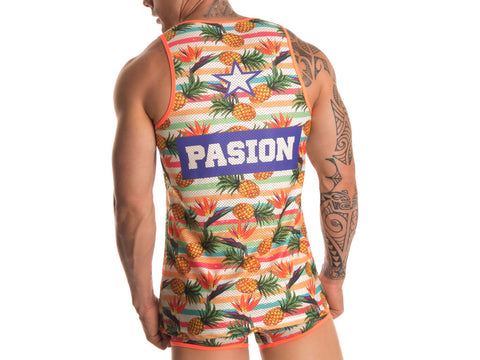 JOR JOR0248 Pineapple Tank Top
