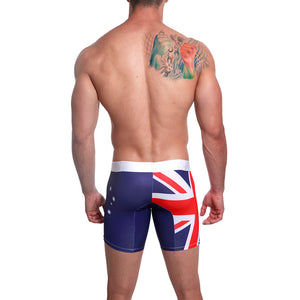 Mensuas MN0861 Australian Flag Long Boxer