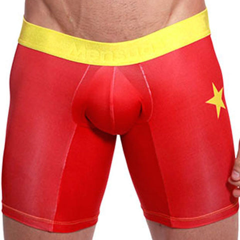 Mensuas MN0871 China Flag Long Boxer