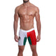 Mensuas MN0872 Mexico Flag Long Boxer