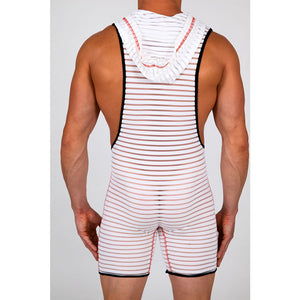 Pistol Pete PPBS408-227 INFINITY Sleeveless Hooded Bodysuit