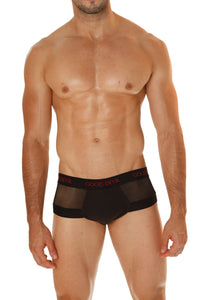 Good Devil GD722  Rotica Sheer Cheeky Brief