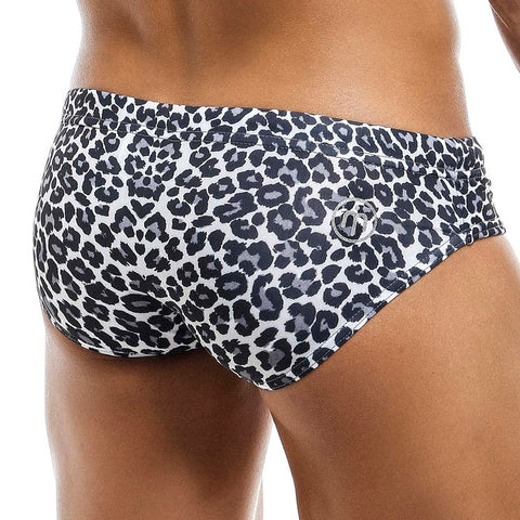 Intymen INJ053 Leopard Swim Brief