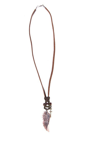 Nuwear NU- Vintage Rebel Ring Necklace