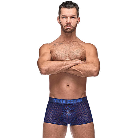 Male Power 145264 Diamond Mesh Mini Short
