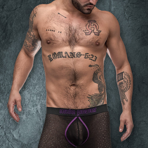 Male Power 154256 Airotic Mesh Enhancer Short