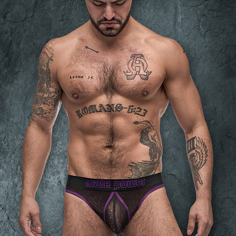 Male Power 303256 Airotic Mesh Butt Out Bikini