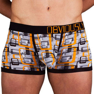 Obviously MCH  Geometric Low Rise Boxer Brief