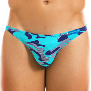 MODUS VIVENDI 10911 Camo Low Cut Brief aqua
