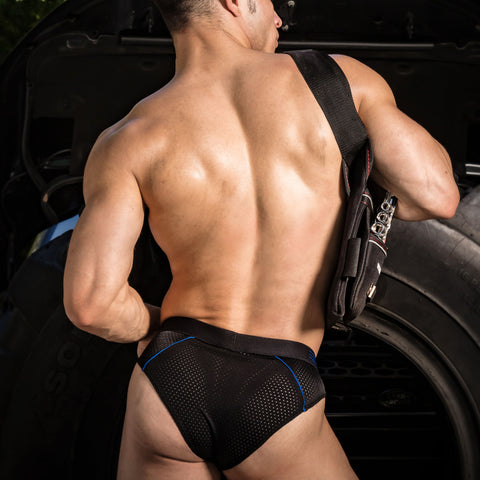 Pistol Pete PPJ018 Vented Brief