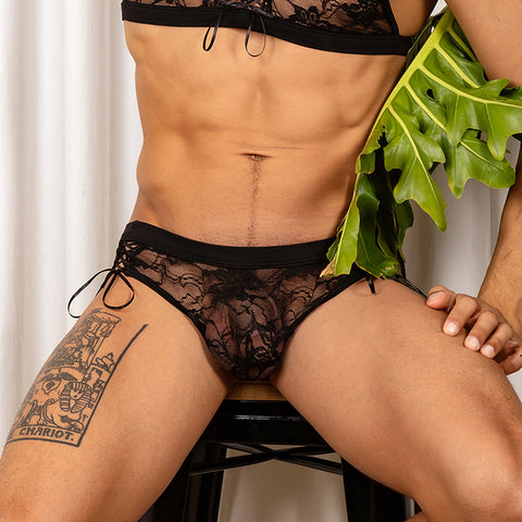Secret Male SMI024 Floral Bikini