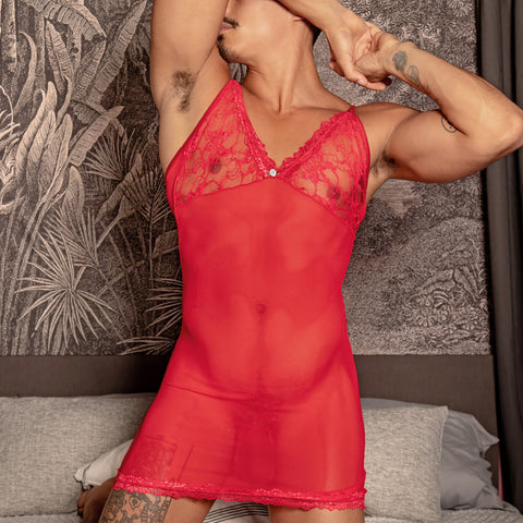 Secret Male SMW001 Lace Babydoll