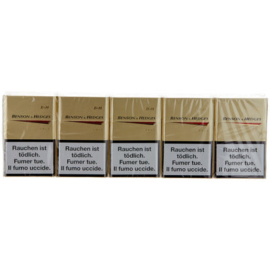 1TO - CIGARETTES BENSON & HEDGES 200PC