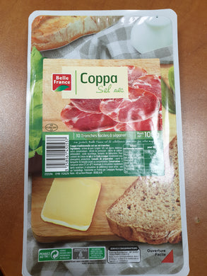 1CC - Belle France Coppa sliced - en tranches - 100 gr