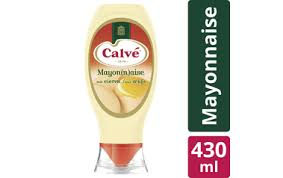 1SA - Calve Mayonnaise with eggs - Mayonnaise aux Oeufs - 430ml