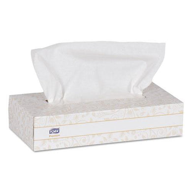 1HY - FACIAL TISSUE 2 PLY  WHITE 100 PC