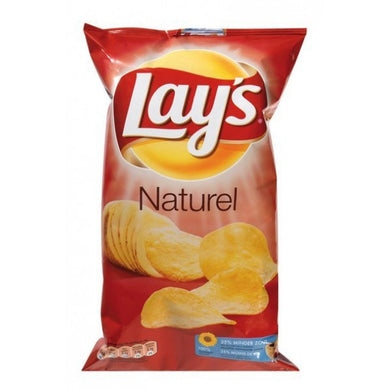 1PO - Lays Naturel Chips 45gr