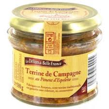 1CC - Belle France Terrine de Campagne -180gr