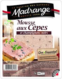 1CC - Madrange Mousse with ceps - Mousse aux cèpes - 180 gr