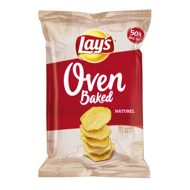 1PO - LAYS CHIPS OVEN BAKED NATUREL 150G