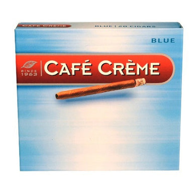 1TO - CAFE CREME CIGARS BLUE X 10