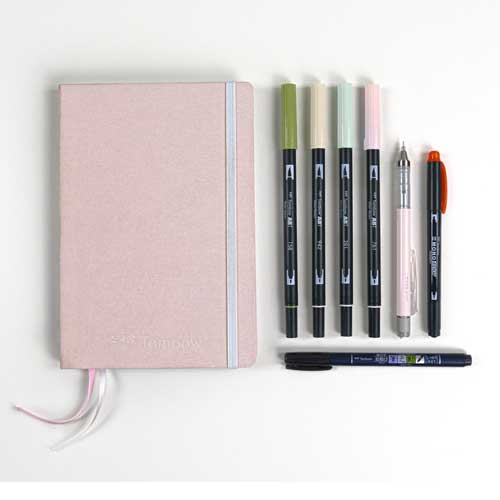 Set Creative Journaling Kit Pastel