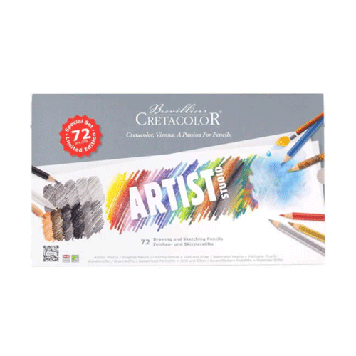 Caja Artist Studio Sketching and Drawing Set 72 Piezas