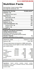 Progenex Build Nutritional Table I Premium Honey - Sweet Potato Carbohydrates I Australia