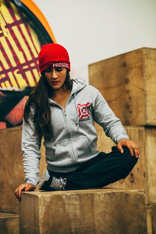Progenex Beanie Red I Lauren Fisher I CrossFit Apparel I Australia