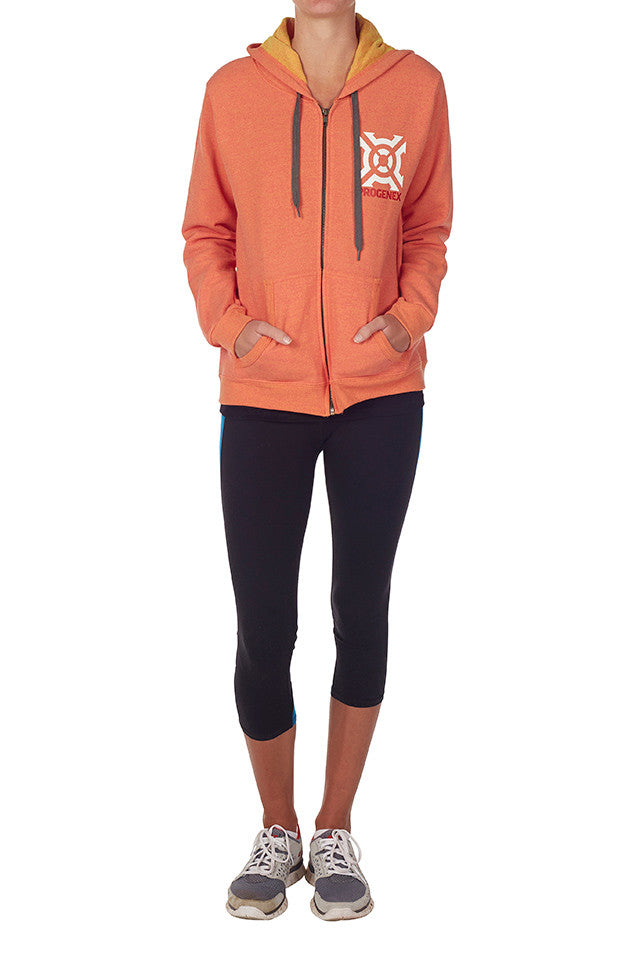Ladies Progenex Sunset Hoodie - CrossFit Apparel Australia