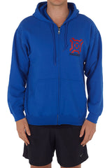 Men's and Ladies Progenex Blue Hoodie - CrossFit Apparel Australia