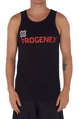 Men's Black Progenex Icon Singlet I CrossFit Apparel I Progenex Australia
