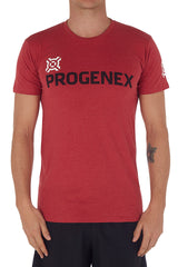Men's Heather Red Progenex Icon Tee I CrossFit Apparel Progenex Australia
