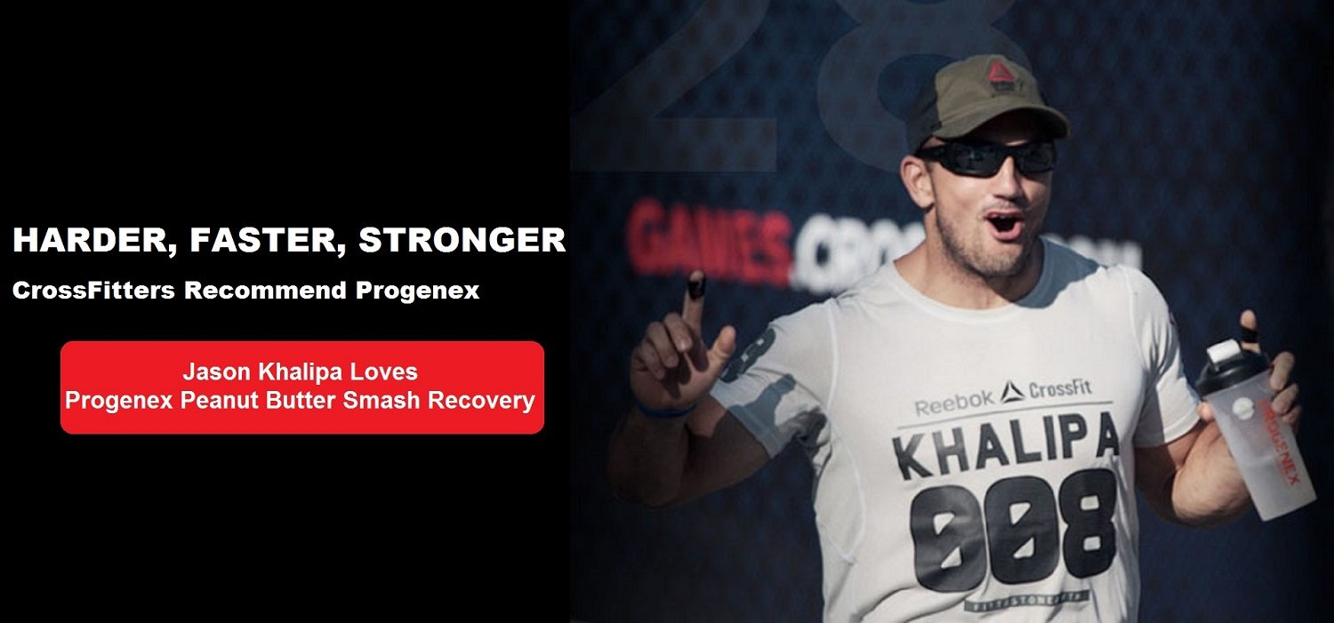 Rob Forte, CrossFit Athlete Progenex Products Progenex Cocoon Casein protein supplement