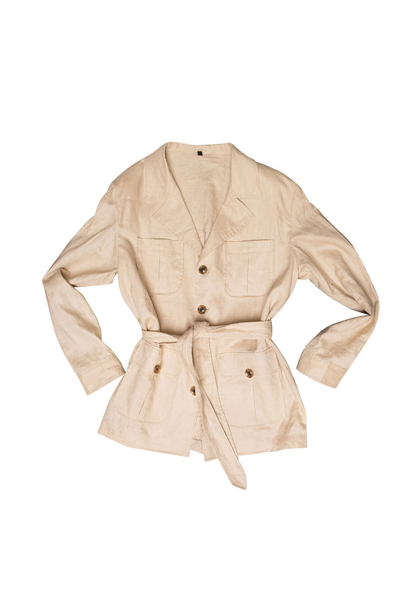 Safari Linen Jacket