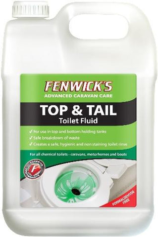 Fenwicks Top & Tail Toilet Fluid 2.5l
