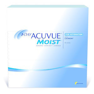 1-Day Acuvue Moist for Astigmatism (90-pack)