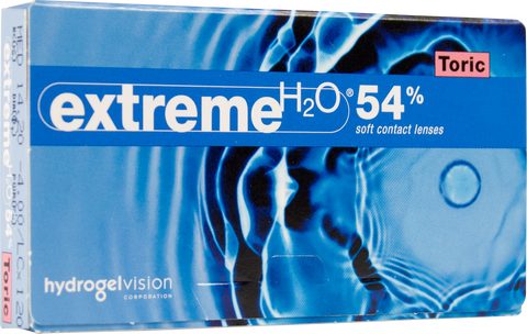 Extreme H2O 54% Toric (6-pack)
