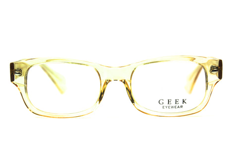 Geek - 111 Wayfarer Yellow Crystal
