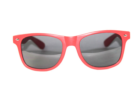 Wayfarer Sunglasses Red w/ Matte Finish
