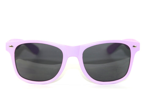 Wayfarer Sunglasses Light Pink w/ Matte Finish