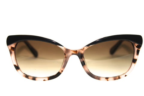Kate Spade Amara/S JAZ Black Blush Tortoise (55mm)
