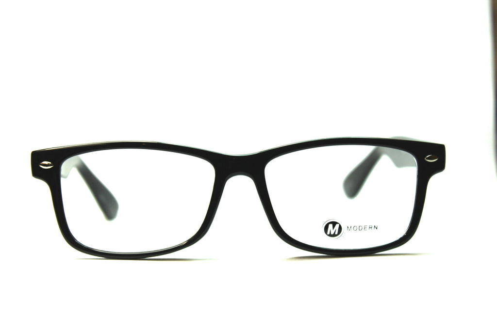 Modern Optical Buzz Black Eyeglasses 54mm Www