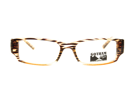Gotham #184 Brown Tiger Stripes (51mm)