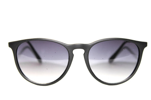 Retro Sunglasses in Matte Black