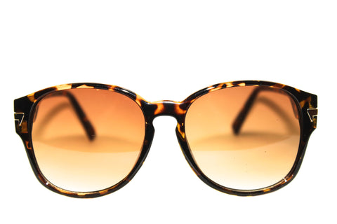 Brown Sugar - Oversized Women's Sunglasses in Brown Tortoise