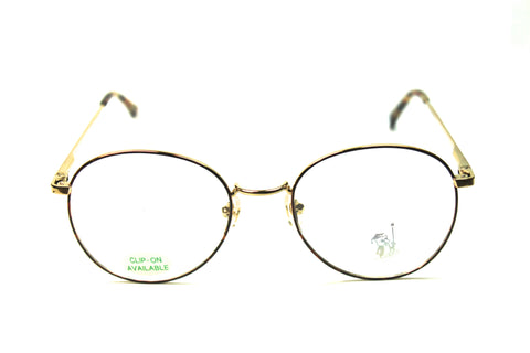 U.S. Eyewear - Scholar Series - The Poet - Gold