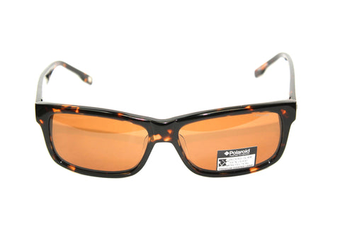tortoise polarized sunglasses 59mm front view summer eyewear havana