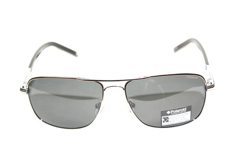 Polaroid U9301 A Filter Cat.3 Black/Silver Polarized (58mm) Sunglasses